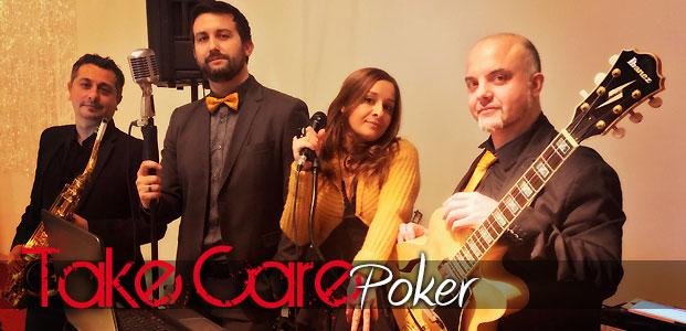 TakeCare Poker - Live Music Band Torino